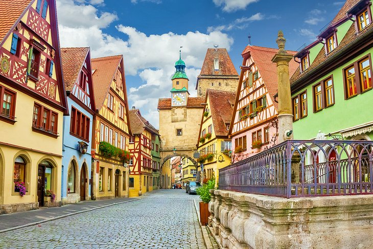 Rothenburg's charming Old Town