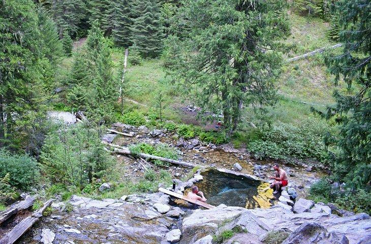 Aguas termales de Weir Creek