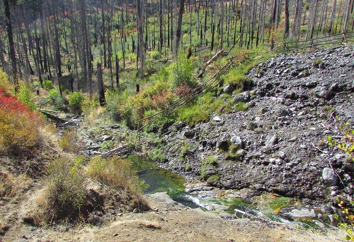Aguas termales de Council Mountain (Laurel)
