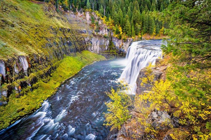 Otoño en Upper Mesa Falls
