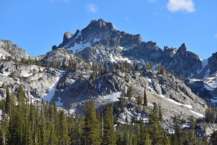 Las montañas Sawtooth