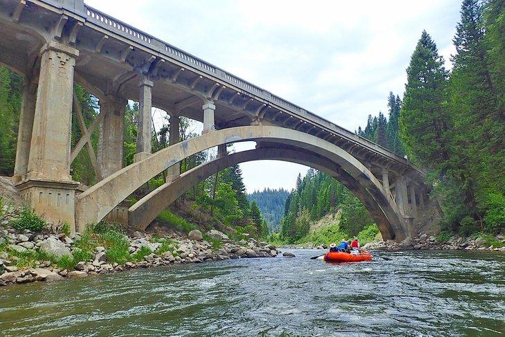 Rafting en el North Fork del río Payette