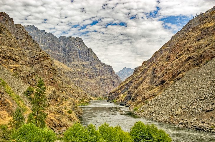 Snake River en Hells Canyon