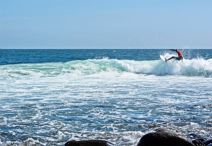 Surfista en Ensenada