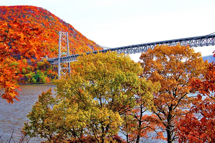 Bear Mountain Bridge on the Palisades Interstate Parkway