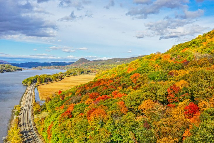 Fall colors at Hudson Highlands State Park