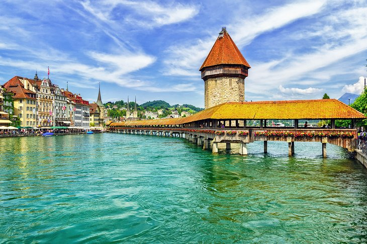 Chapel Bridge in Lucerne