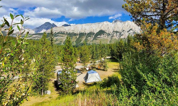 Campamento del cañón