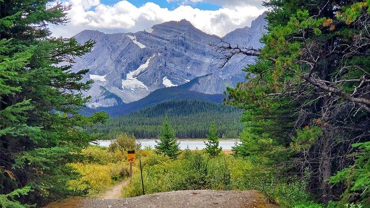Campamento del lago inferior