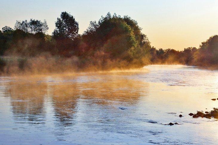 Río Conestogo cerca del campamento Conestogo