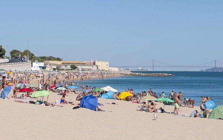 Playa de Santo Amaro de Oeiras