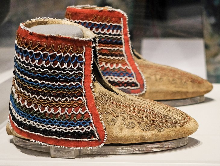 Moccasins at the Tennessee State Museum