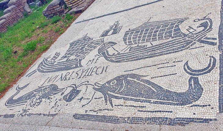 Mosaico romano en Salakta