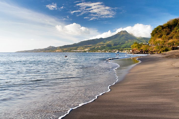 Playa de Saint-Pierre, Martinica