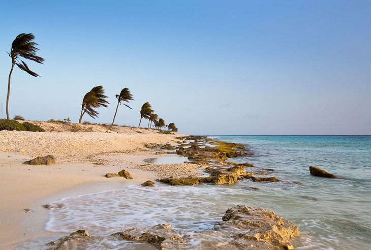 Atardecer en Pink Beach en Bonaire