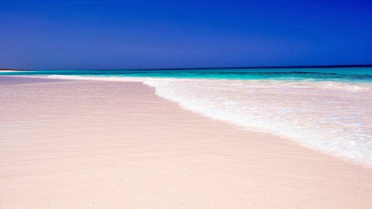 Playa de Pink Sands en Harbour Island