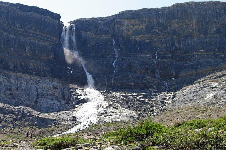 Cataratas del glaciar Bow