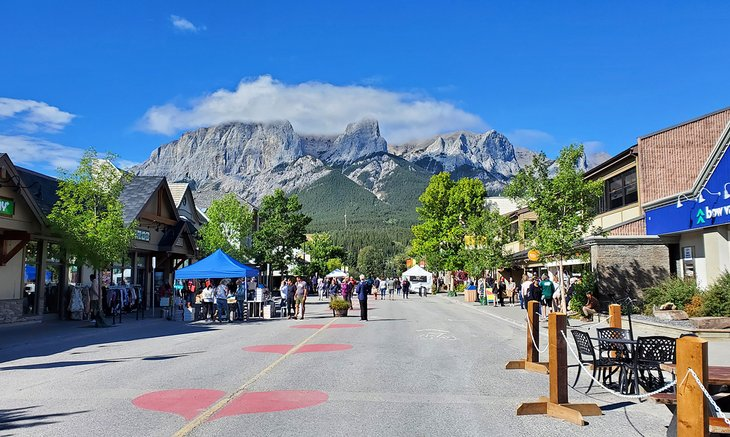 8th Street in Canmore