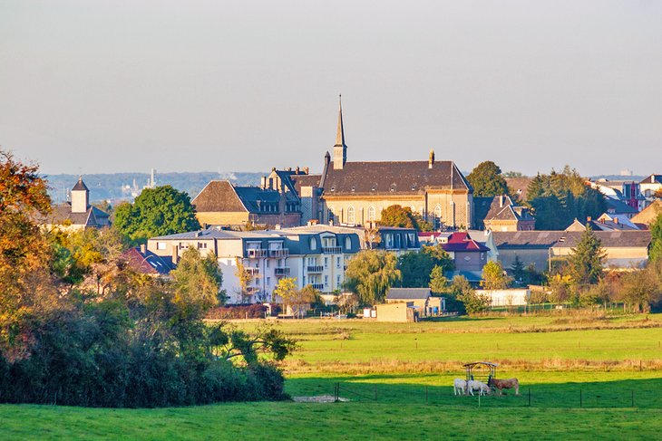The picturesque town of Bettembourg