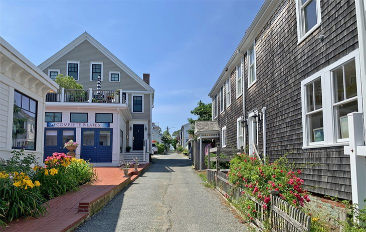 Enticing side street in Provincetown