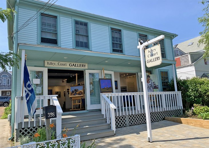 Art gallery in Provincetown