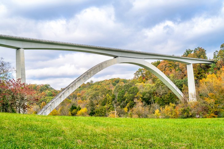 Double Arch Bridge at Natchez Trace Parkway