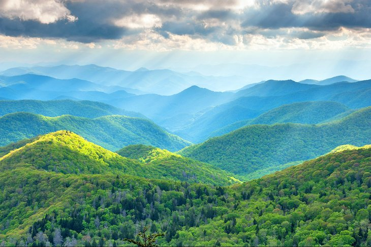 Great Smoky Mountains near Asheville