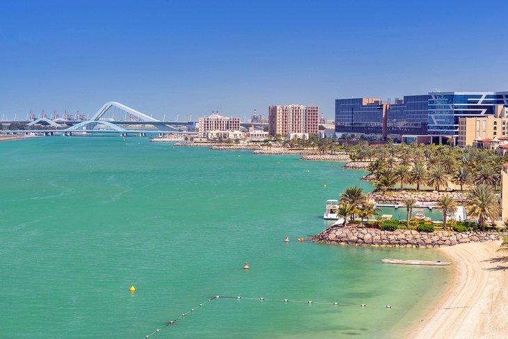 Paseo marítimo de Khor Al Maqta en el hotel Fairmont Bab Al Bahr
