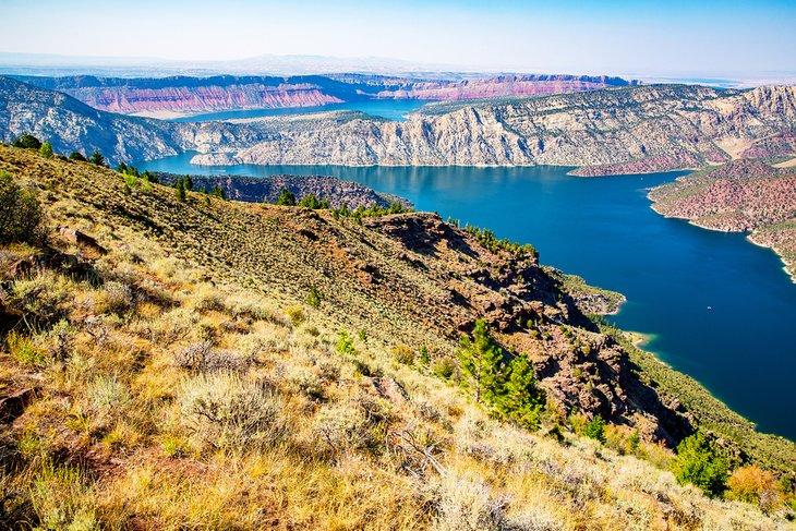 Área recreativa nacional Flaming Gorge
