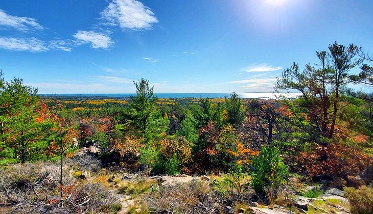 Vista desde Granite Ridge