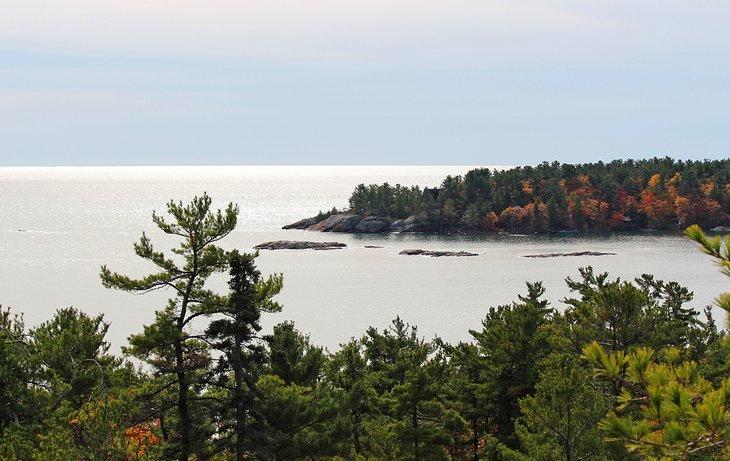 Vista desde el Lighthouse Trail