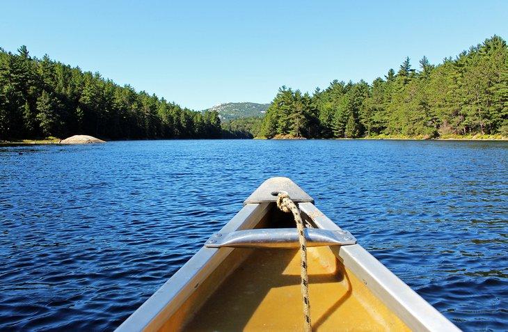 Piragüismo en Bell Lake