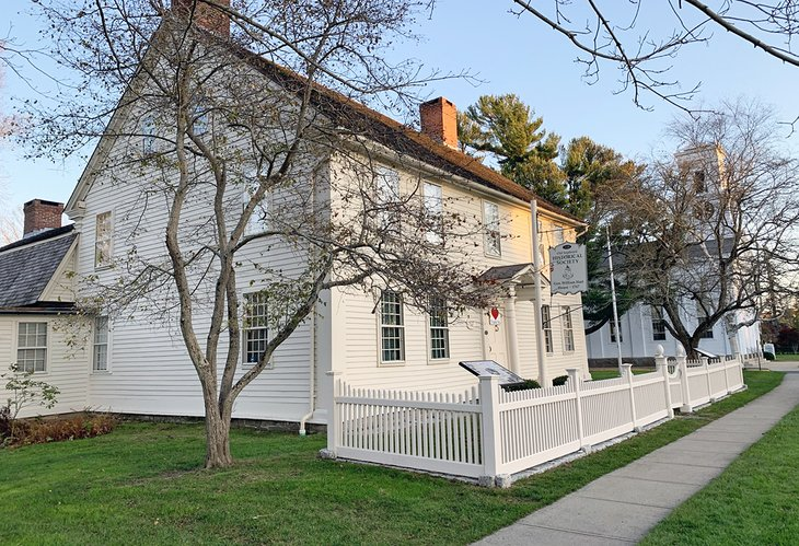 General William Hart House is home to the Old Saybrook Historical Society