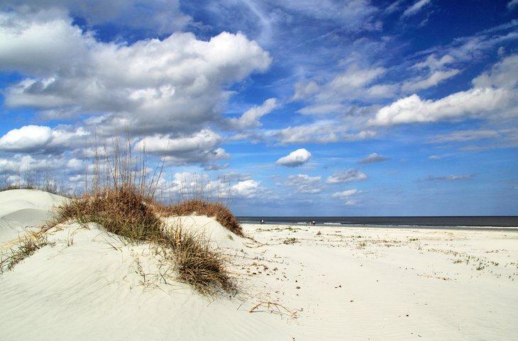 Playa en la isla de Cumberland