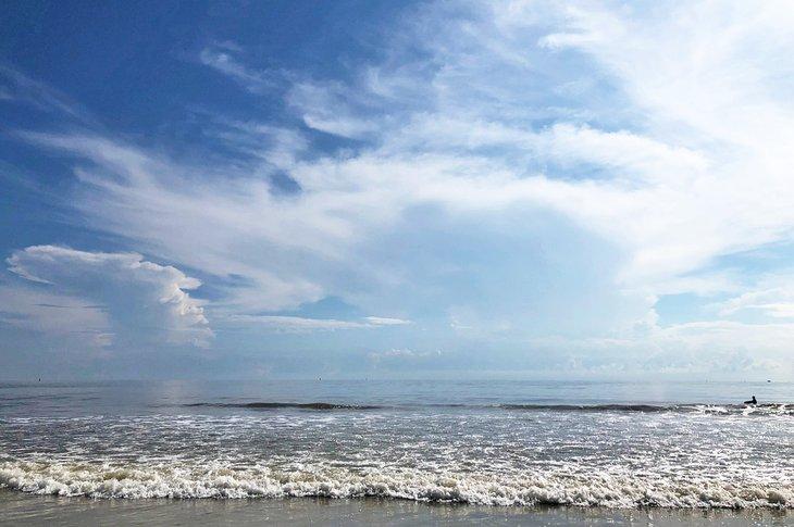 North Beach en Tybee Island