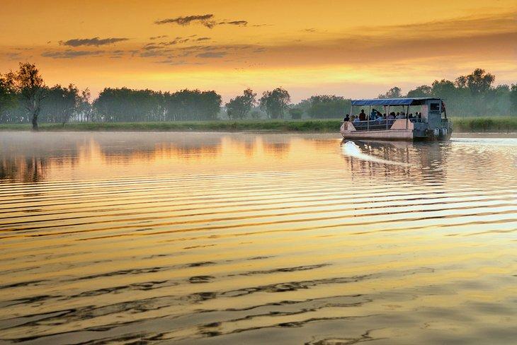 Crucero por aguas amarillas