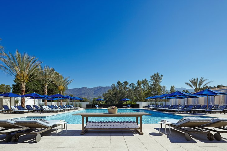 Pool at the Ojai Valley Inn