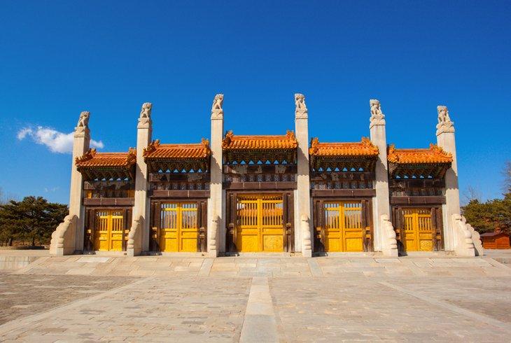 Las tumbas occidentales de Qing