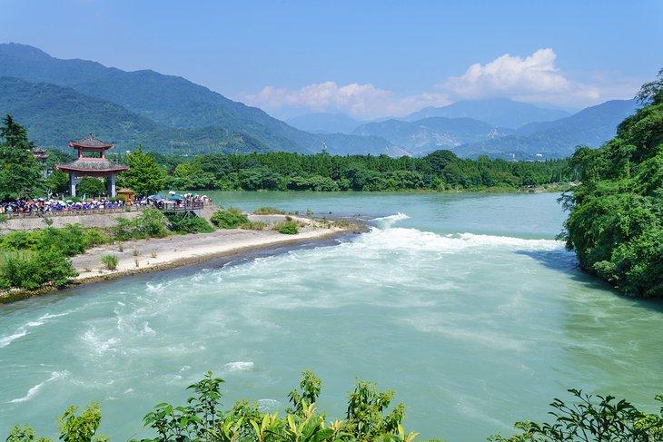 El sistema de riego de Dujiangyan