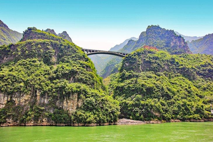 Garganta de Xiling, río Yangtze