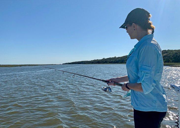 Pesca de bajura Anietra en San Agustín