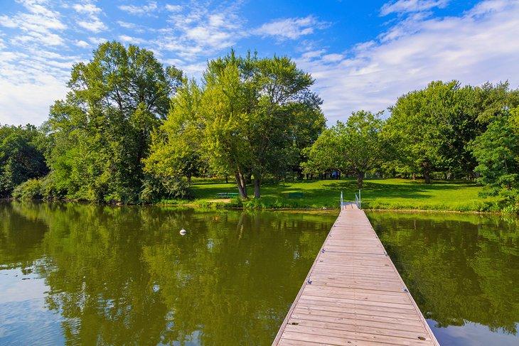 Parque estatal Lake MacBride