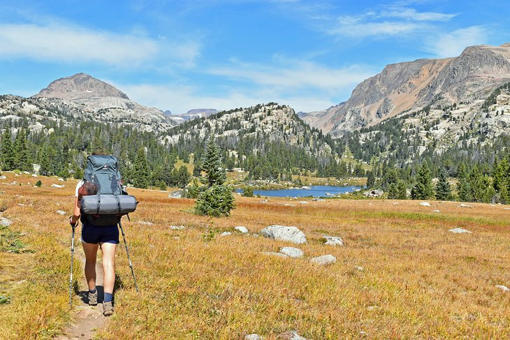 Hiking in the Beartooth High Lakes Country