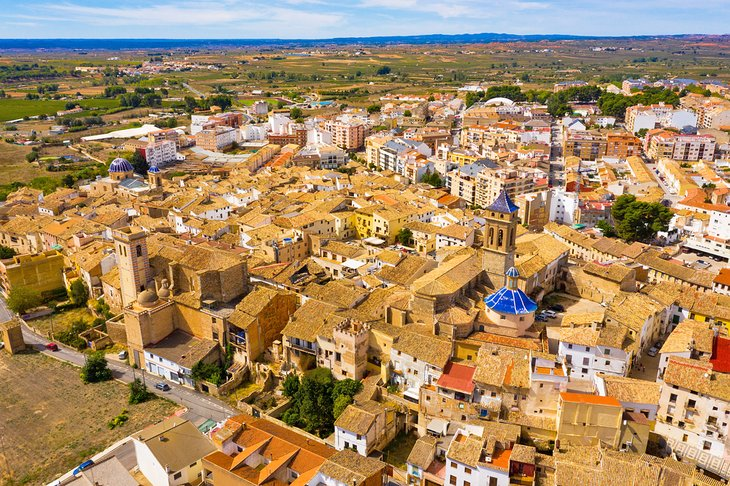 The medieval town of Requena