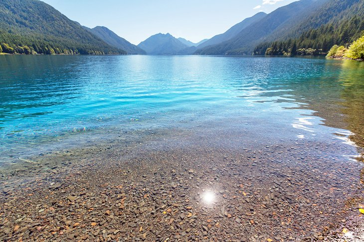Lake Crescent in Olympic National Park