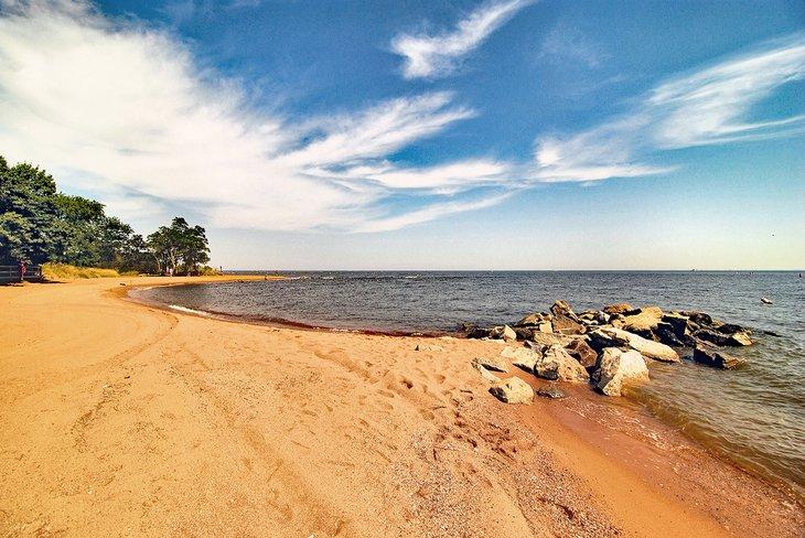 Parque estatal Sandy Point