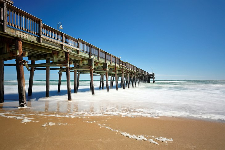 Muelle de pesca de Sandbridge Beach, Virginia Beach