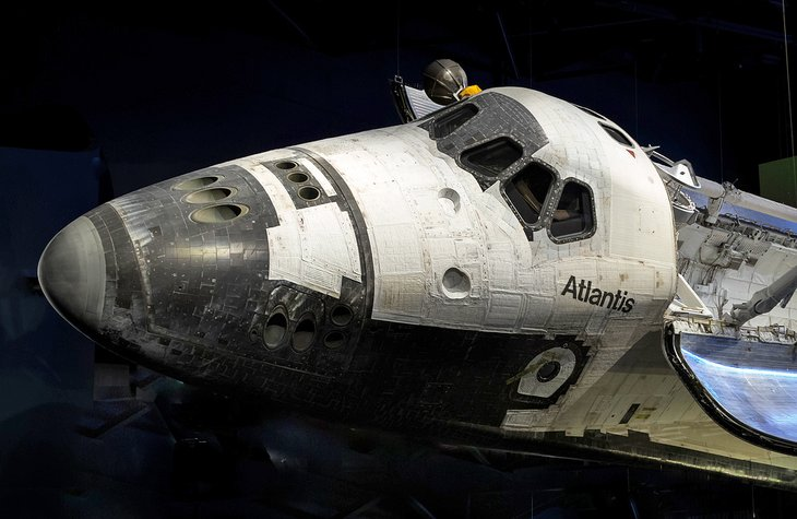 Shuttle Atlantis at Cape Canaveral, Kennedy Space Center