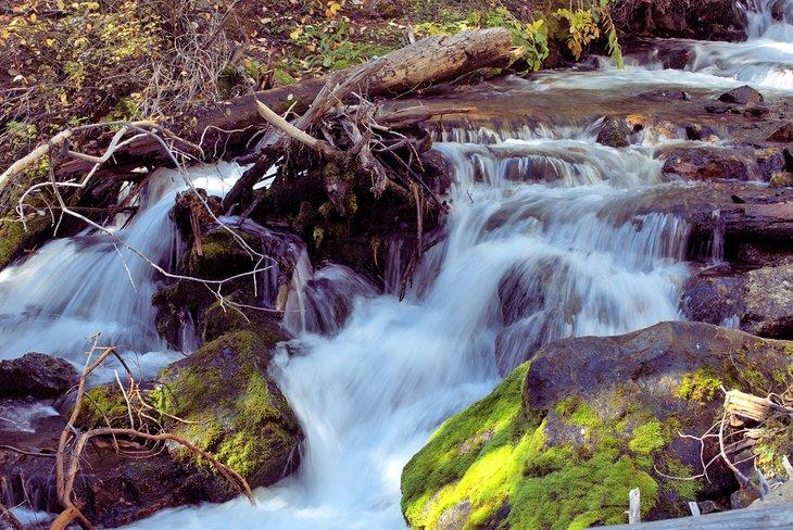 Caída inferior de Lost Creek Falls