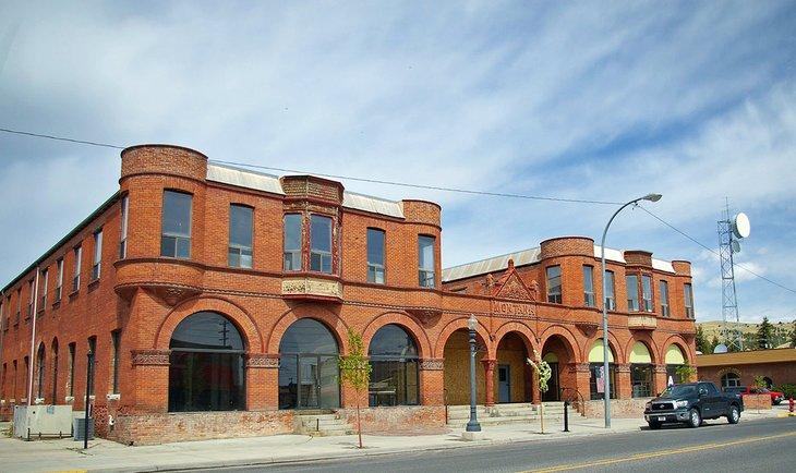 Edificio histórico en Anaconda